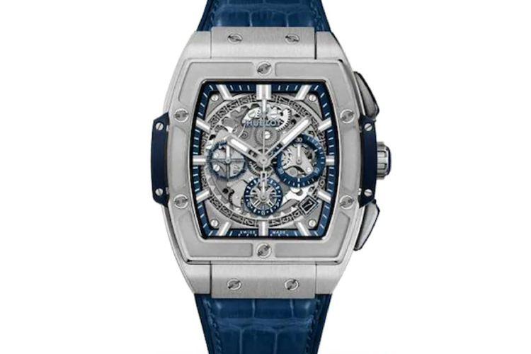 Spirit of Big Bang Hublot Titanium Blue dibanderol seharga 20.900 Dollar AS atau sekitar Rp 301,1 juta.
