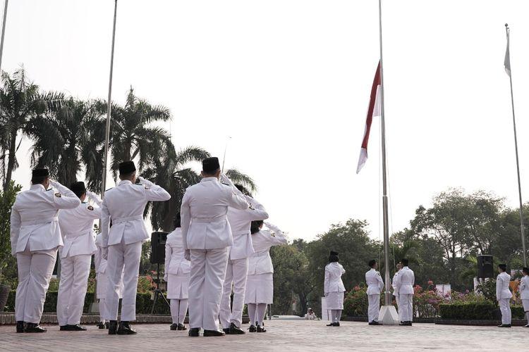 Peringati HUT RI, BUMN Gelar Upacara Kemerdekaan di Kementerian BUMN