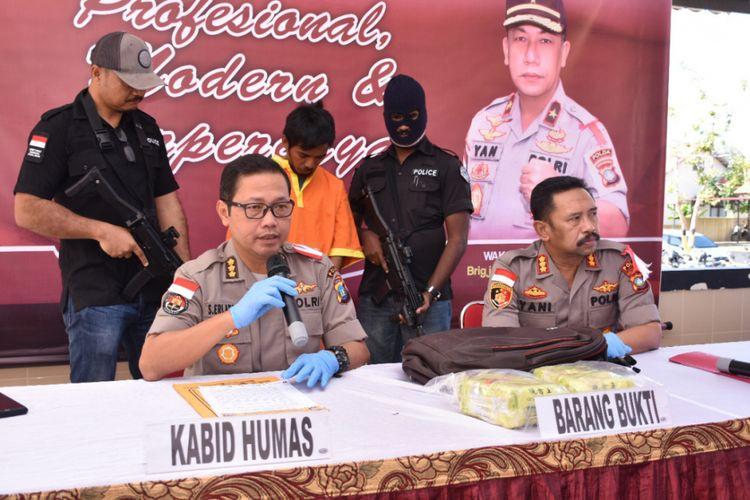 HD alias LA (31) warga  Tiban 3 Kelurahan Tiban Baru, Sekupang, Batam, Kepulauan Riau yang sudah lama menjadi DPO kasus narkoba akhirnya berhasil diamankan.