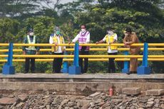 Resmikan Bendungan Sindangheula, Jokowi: Bermanfaat Kendalikan Banjir