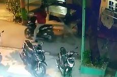 Aksi Pencurian Motor di Masjid di Serpong Terekam CCTV