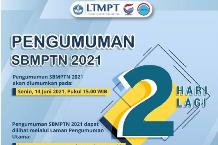 Pengumuman Hasil SBMPTN 2021