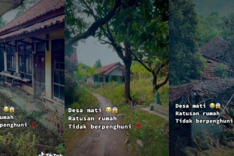 Viral video desa mati di Majalengka, Jawa Barat. Hampir 200 ratus rumah tak berpenghuni. Begini cerita lengkapnya dari pengunggah.