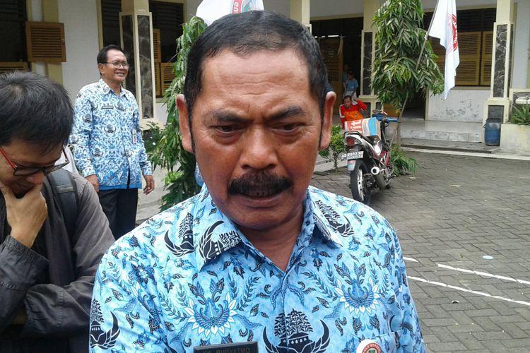 Wali Kota Solo, FX Hadi Rudyatmo di Solo.