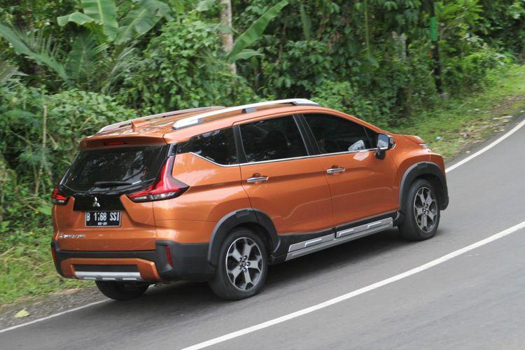 Pengujian Xpander Cross pada beragam medan di Bali