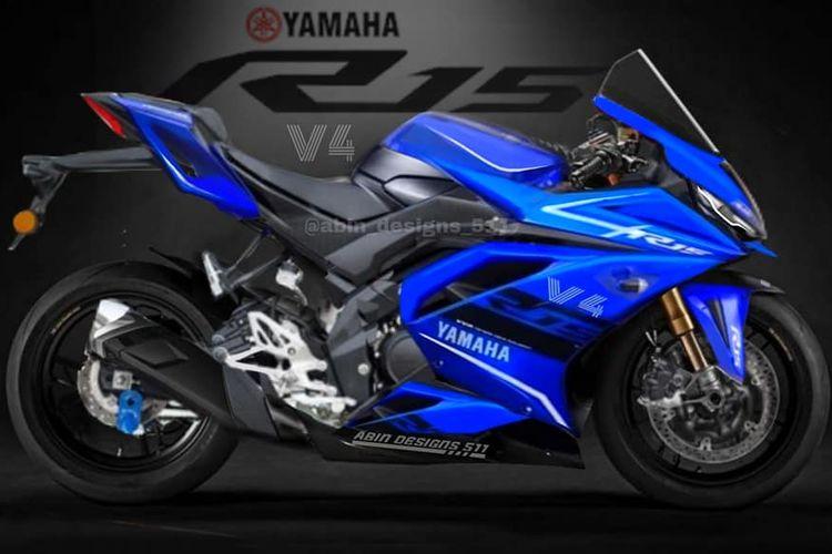 Rendering Yamaha R15 v4