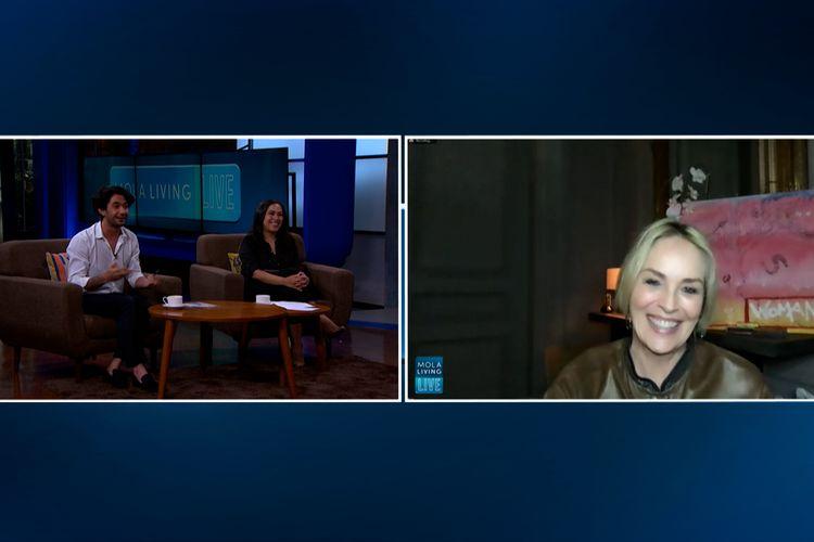 Sharon Stone live di Mola TV