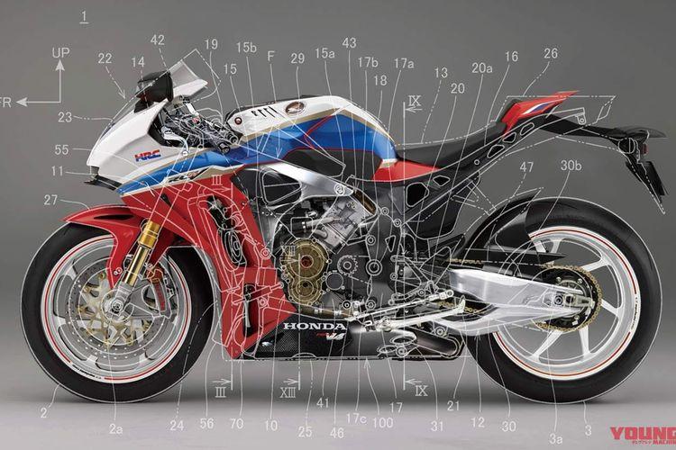 Desain Honda RVF1000R