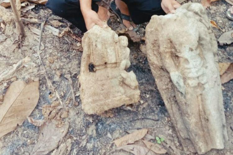 Masyarakat dihebohkan dengan penemuan tiga arca dewa yang diduga peninggalan peradaban agama Hindu di kawasan hutan Dusun Segoro Gunung, Desa Nglinduk, Kecamatan Gabus, Kabupaten Grobogan, Jawa Tengah.