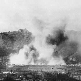 Ilustrasi penyerangan di Italia