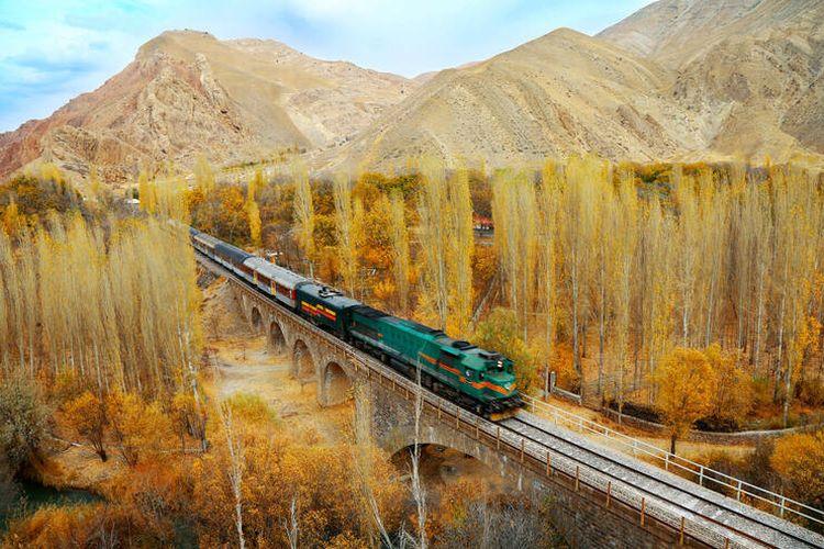 Trans-Iranian Railway DOK. UNESCO/Hossein Javadi