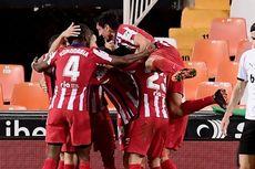 Valencia Vs Atletico Madrid, Los Rojiblancos Menang Berkat Gol Bunuh Diri