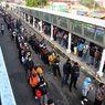 BERITA FOTO: Penumpang KRL di Stasiun Bogor Membludak