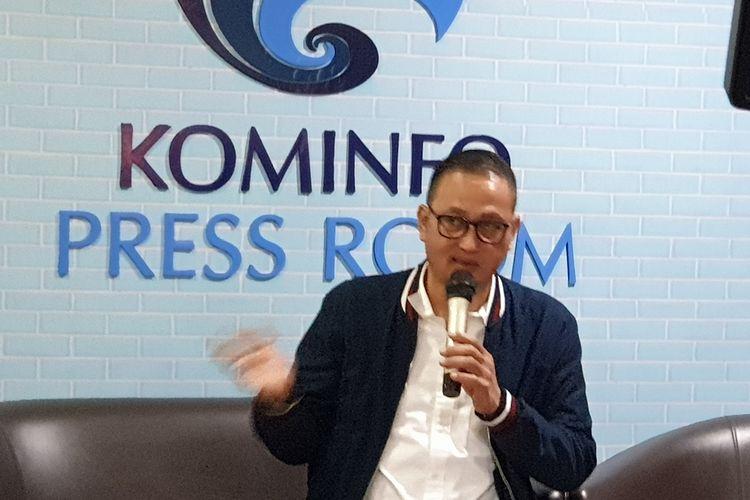 Menurut Dirjen Aptika Kementerian Komunikasi dan Informatika (Kominfo), Samuel Pangerapan, dalam acara konferensi pers di kantor Kemenkominfo, Senin (25/3/2019).