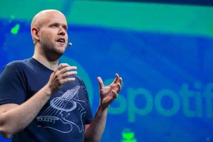 Co-Founder dan CEO Spotify, Daniel Ek.