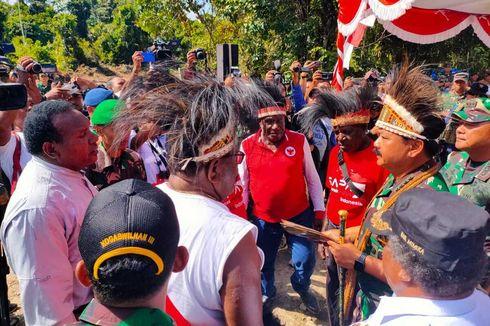 Panglima TNI Yakin Banyak Anak Asli Mimika Jadi Jenderal di Masa Depan