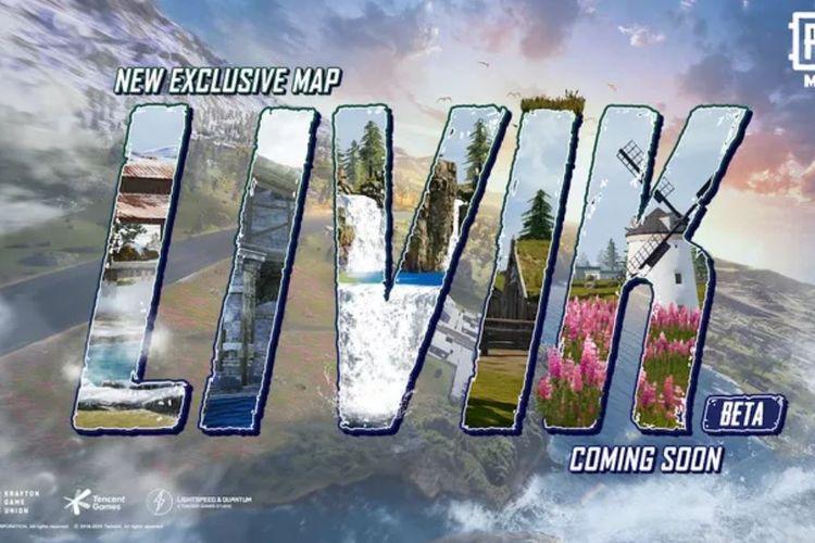Poster Livik, peta baru PUBG Mobile.