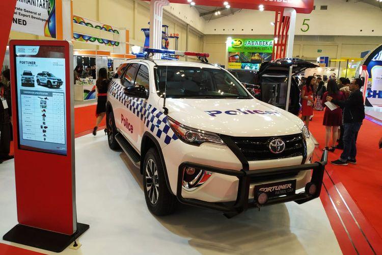 Toyota Fortuner Patrol Car