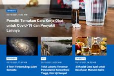 [POPULER SAINS] Cara Kerja Obat untuk Covid-19   Teluk Jakarta Tercemar Parasetamol, DLH Bertindak