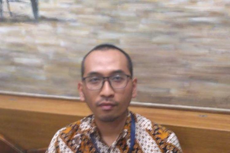 - Dosen sosial politik Universitas Indonesia Dirga Ardiansa di Kawasan Cikini, Jakarta, Selasa (24/1/2017)