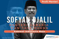 INFOGRAFIK: Profil Sofyan Djalil, Menteri Agraria dan Tata Ruang (ATR)