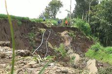 Longsor, Jalur Penghubung Antar Desa di Tulungagung Putus Total
