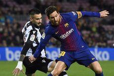 Persentase Dribel Sukses di La Liga, Messi Hanya Urutan Ke-4