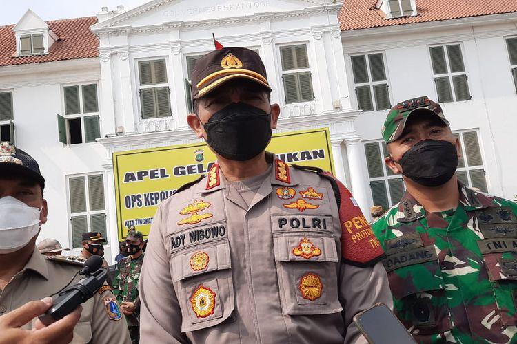 Kapolres Jakarata Barat Kombes Pol Ady Wibowo saat ditemui awak media di Jakarta, Rabu (5/5/2021).