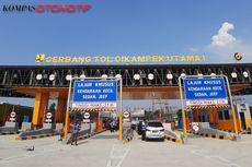 Penampakan Gerbang Tol Cikampek Utama, Beroperasi Hari Ini