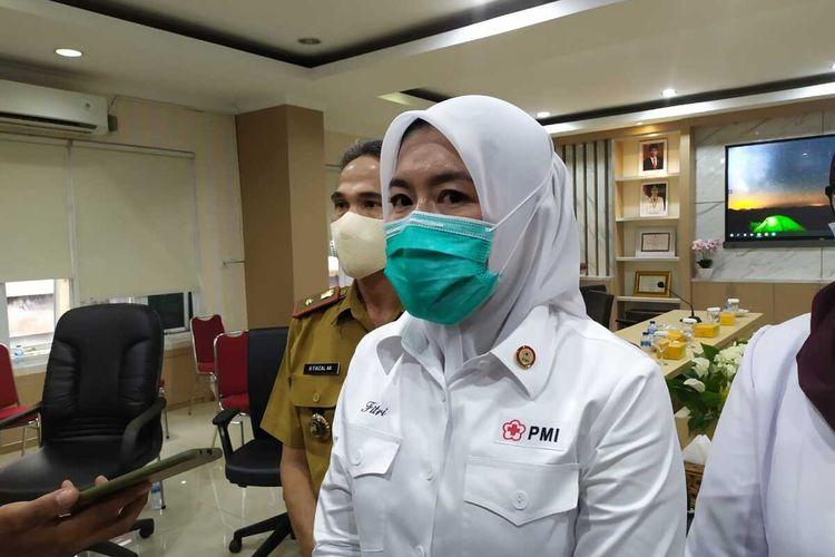 Wakil Wali Kota Palembang Fitrianti Agustinda.