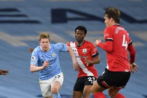 Man City Vs Southampton, Aksi Gemilang De Bruyne Warnai Drama 7 Gol