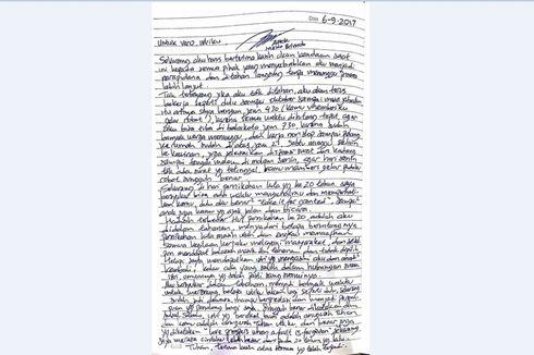 Surat Cinta Ahok untuk Veronica di Ulang Tahun Pernikahan ke-20...