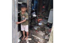 Tak Hanya Dirantai, Bocah 7 Tahun Ini Juga Ditinggal Sendirian Saat Orangtua Jualan di Pasar