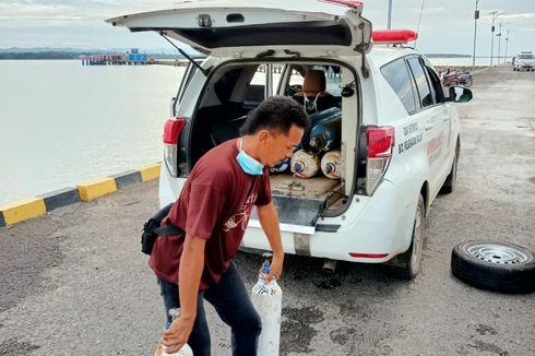 Cerita Haji Momo Kumpulkan Tabung Oksigen Kosong di Sebatik, Sewa Kapal untuk Isi Ulang di Tarakan