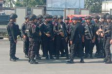 Ratusan Personel TNI-Polri Siaga di Mimika Jelang Pelantikan Presiden