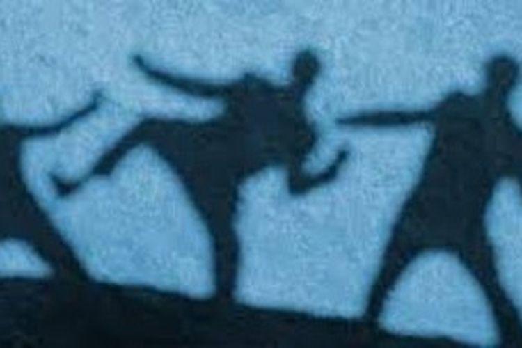 Ilustrasi keributan