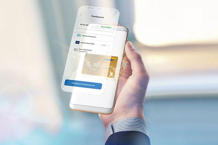 Mandiri Direct Debit akan memudahkan nasabah untuk berbelanja di e-commerce. (Dok. Bank Mandiri)