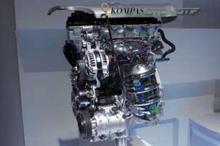 Mesin Sienta di Indonesia, yaitu 4-silinder 1.497cc, DOHC, Dual VVT-i  berkode 2NR-FE. Beda dengan Sienta versi Jepang dan Avanza.