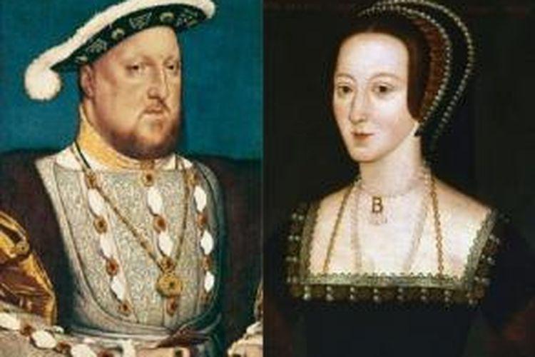 Henry VII dan Anne Boleyn, satu dari sekian cerita romansa dengan raja tapi berakhir tragis