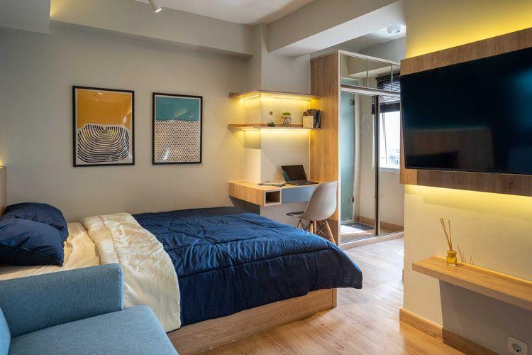 Apartemen studio satu kamar tidur karya Fiano