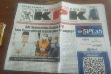 Beredar Surat Kabar Berlogo Menyerupai Logo KPK, Diduga untuk Memeras