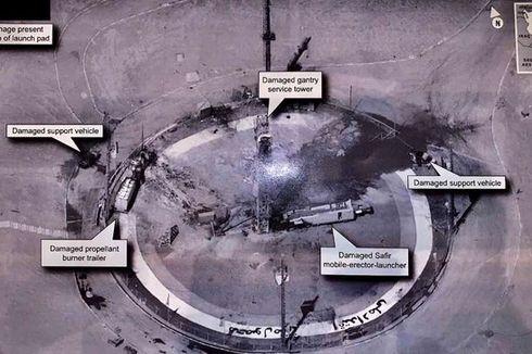 Iran Akui Terjadi Ledakan di Landasan Peluncuran Roketnya, Teheran Kritik Trump