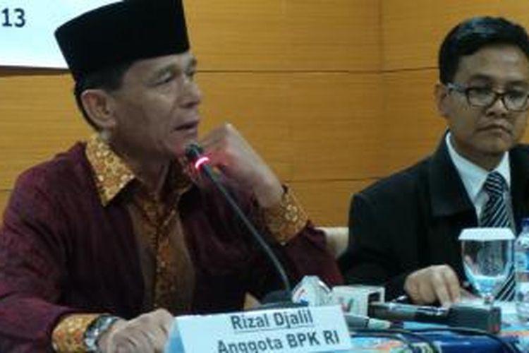 Ketua BPK Rizal Djalil