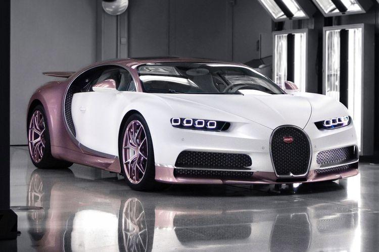 Bugatti Chiron Sport pesanan untuk hadiah Valentine