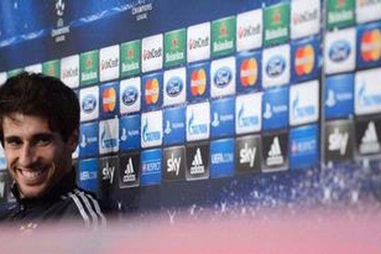 Gelandang Bayern Muenchen,Javi Martinez.