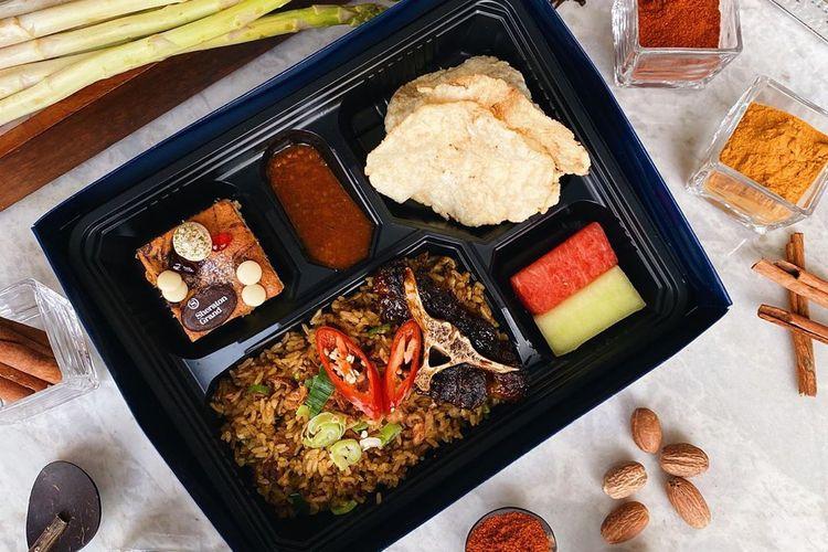 Promo take away dan delivery service Anigre Restaurant Sheraton Grand Jakarta