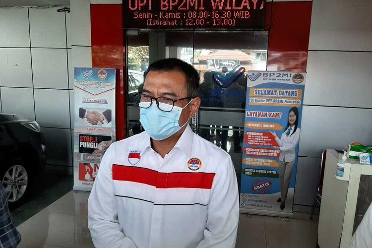 Kepala UPT BP2MI Pontianak Kombes Pol Erwin Rachmat