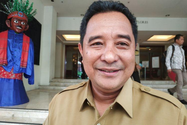 Plt Dirjen Politik dan Pemerintahan Umum (Polpum) Kementerian Dalam Negeri, Bahtiar, di Hotel Borobudur, Jakarta Pusat, Selasa (26/11/2016).