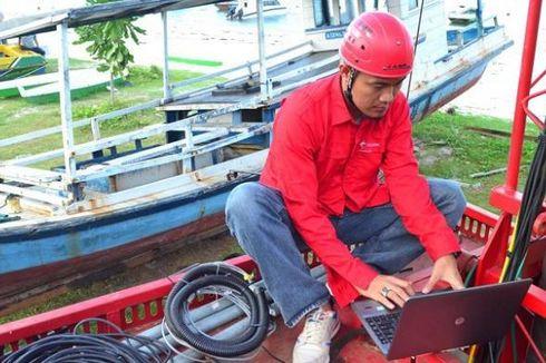 Telkomsel Kawal Dua Titik Terbaik Gerhana di Belitung