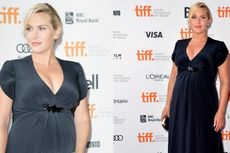 Kate Winslet Pamer Kehamilan Ketiganya
